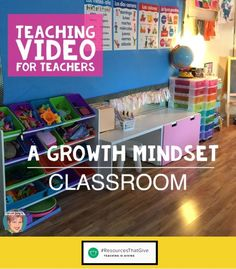 A FREE PD video for teachers who are interested in growth mindset for the classroom. There are 3 parts to this video: What is a growth mindset? Why is a growth mindset important and 8 actions you can take right now in your classroom.