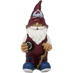 "NHL Colorado Avalanche Hockey Garden Gnome by Football Fanatics. $24.95. Colorado Avalanche Hockey Garden GnomeMade to withstand most weather conditionsApproximately 11.5"" x 5"" x 5""Hand-painted resin figurineOfficially licensed NHL productTeam colors and logoHand-painted resin figurineTeam colors and logoMade to withstand most weather conditionsApproximately 11.5"" x 5"" x 5""Officially licensed NHL product"