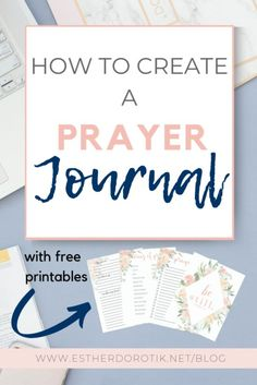 FREE prayer journal printables for your war binder. If you struggle to keep a consistent prayer life, this journal is just what you need. With detailed instructions, learn exactly how to set up your own prayer journal. Get started today!  Learn how to pray effectively | prayer journals for beginners | free prayer journal printables | war room binders #prayerjournals #howtopray #freeprayerprintables How To Pray Effectively, Christian Life, Christian Living, Christian Cards, Christian Women, Prayer List, Before Us, Bible Verses, Bible Art