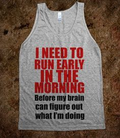 So THAT'S why I workout early! Makes total sense now.