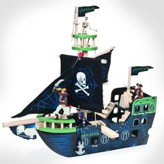 Le Toy Van Ghost Ship by Hotaling FREE SHIPPING