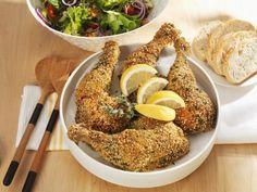 Hähnchenschenkel in Kräuterpanade ist ein Rezept mit frischen Zutaten aus der Kategorie Hähnchen. Probieren Sie dieses und weitere Rezepte von EAT SMARTER!