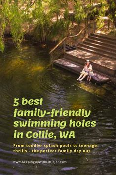 5 incredible swimming holes in Collie that your family will love from the best for toddler paddling to thrills for teenages. Best Swimming, Swimming Holes, Collie, Diamond Lake, Black Diamond, Travel With Kids, Family Travel, Family Vacations, Dream Vacations