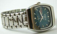 HMT Nass 12 Automatic Blue Dial 21J Day Dater Mechanical Watch 1 Year Warranty | eBay