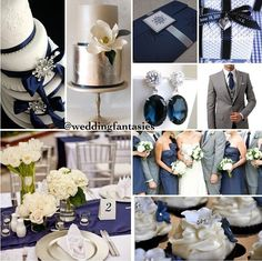 I really like the silver and navy blue colors.