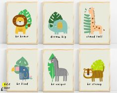 Safari nursery & jungle nursery from Sunny and Pretty. Safari themed nursery wall art, baby safari animals prints. Nursery prints to complete your decor project. Our printable wall art is made with love and is designed to reflect your decor style, encourage your little one's imagination and create heartwarming memories. 🖤 Get excited about decorating for your little one! #sunnyandpretty Safari Theme Nursery, Space Themed Nursery, Animal Nursery, Nursery Wall Decor, Nursery Themes, Nursery Prints, Girl Nursery, Nursery Ideas, Nursery Artwork