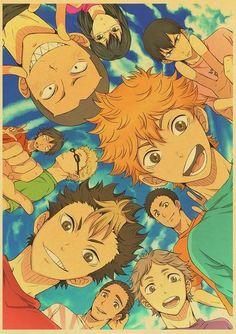 Haikyuu!! Posters - 42x30 cm / Q015 12