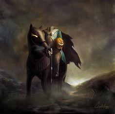 Headless Horseman | Headless horseman by ~Meteorskies on deviantART