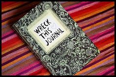 Wreck this journal: page 51 | Flickr - Photo Sharing!