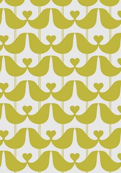25% OFF ISAK Lovebirds wallpaper at BODIE and FOU | Childrens wallpaper — Bodie and Fou - Award-winning inspiring concept store