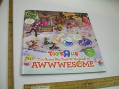 The Great Big Toys R Us ToysRUs Awwwesome Wish Book Toy Catalog Christmas 2016