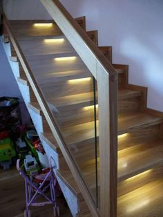 Banisters, Modern Staircase, Wooden Doors, Stairs, Bedroom, Glass, Design, Home Decor, Ideas