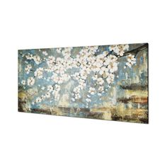 Found it at Wayfair - Blue Blossom by Tina O. Painting on Wrapped Canvas