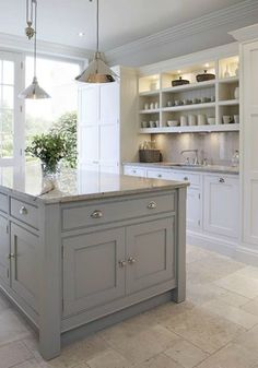 Beautiful House | Grey and White Kitchen – Inspiration | http://beautifulhouse.com.au