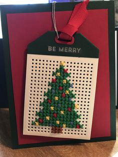 Good Totally Free Cross Stitch cards Suggestions tag gift tags, christmas tree, MFT cross stitch tagDie-namics, Be Merry MFT snowglobe sentiments Di Small Cross Stitch, Cross Stitch Tree, Cross Stitch Bookmarks, Cross Stitch Cards, Cross Stitch Designs, Cross Stitching, Cross Stitch Embroidery, Cross Stitch Patterns, Christmas Sewing