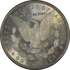 DMPL Morgan dollars are 'deep mirror prooflike' silver dollars. See how they're different from 'prooflike' and 'semi-prooflike' Morgan dollars. and how much they're worth! Us Coins, Rare Coins, Valuable Coins, Coin Art, Proof Coins, Morgan Silver Dollar, Treasure Island, Coin Collecting, Deep