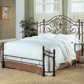 Found it at Wayfair - Mill Valley Metal Panel Bed