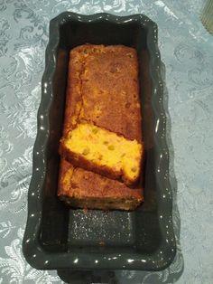 Just for fun! My salty plumcake with  cornmeal :-)