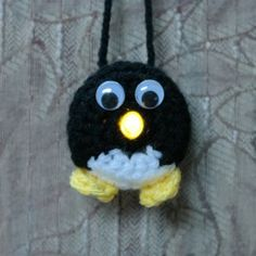 Lighted Penguin Ornament – Free Pattern