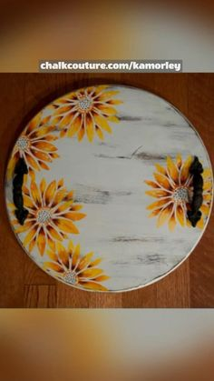 Chalk Crafts, Fun Diy Crafts, Wood Crafts, Arts And Crafts, Rustic Decor, Farmhouse Decor, Sunshine Crafts, Fun Ideas, Craft Ideas