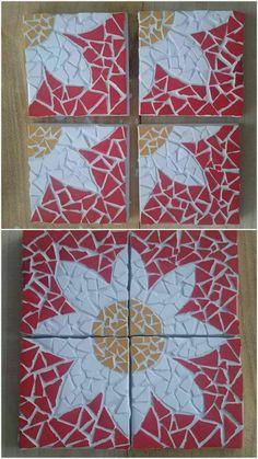 New Stone Art Diy Walkways Ideas Mosaic Vase, Mosaic Wall Art, Mosaic Diy, Mosaic Garden, Mosaic Crafts, Mosaic Tiles, Canvas Art Projects, Mosaic Art Projects, Mosaic Designs