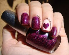 The Manicure Diary: Hearts.