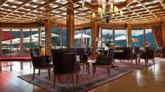Das Grand Hotel Zell am See Hotel Zell Am See, Hotels, Grand Hotel, Bar, Room, Furniture, Home Decor, Bedroom, Homemade Home Decor