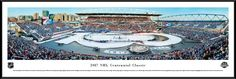 2017 NHL Centennial Classic Panoramic Picture - Toronto Maple Leafs vs. Detroit Red Wings - Standard Frame