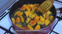 Ethiopian Food - Pumpkin Chickpea Alicha recipe Vegan fasting Amharic En...