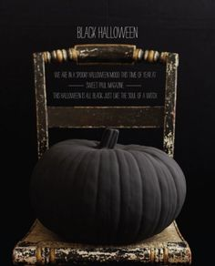 halloween in black the most stylish and scary party ever 12 » Halloween Decoration Ideas in Black post photo