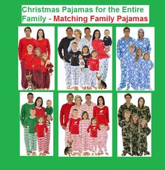 Comfortable and Cozy Matching family Pajamas for the Holiday Christmas Season | Christmas pajamas for the family  (aff link)