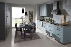 kuchyňa: Lota vyhotovenie: Fjord Kitchen Island, Kitchen Cabinets, Table, Furniture, News, Home Decor, Island Kitchen, Decoration Home, Room Decor