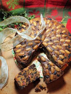 It's cake time again ~ not a cake laden with marzipan and icing, but a buttery fruit cake studded with whole almonds, a traditional Dundee cake. I shared my Wee Whisky Doused Hogmanay Dundee Cakes with you last year, and they are brilliant little Dundee style cakes, however, I gave them all away as gifts this Christmas and the family revolted about the lack of cake, so I made this rather large Dundee cake for New Year.