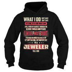 Jeweler Job Title - What I do