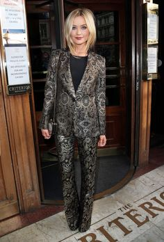 Laura Whitmore.  If I would ever wear a 'pant suit' this would be it.