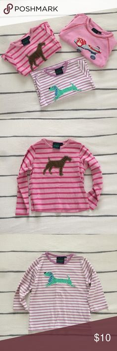 KIDS: mini boden tops bundle mini boden || 3/4 years || untreated spot on one shirt. see pic. || 20% off 2+ items Mini Boden Shirts & Tops