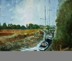 Boats on the River Stour