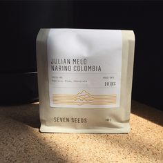 Julian Melo From finca La Palma, in the region of Narino. Tastes like vanilla, plum and chocolate.  Best suited to espresso, stove top and french press.