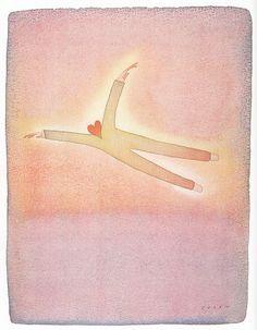 My favourite painting by Jean-Michel Folon