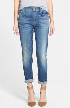 the relaxed skinny boyfriend jeans