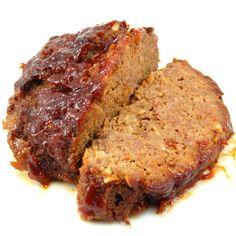 Brown sugar meatloaf....nice variation on a meatloaf!