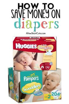 How to Save Money on Diapers #tips #informative