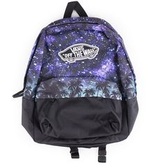 The Vans Realm Divide Night Palm Backpack is a 100% polyester backpack d9638371262