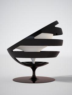 MOHA chair concept by Svilen Gamolov