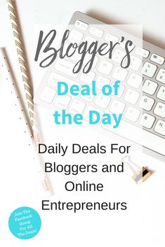 Daily deals from expert bloggers with products designed to help your blogging or online business!  Join us on this private Facebook group and get ready for some great daily deals.  Please be sure to repin and share...the more people we have in the group, the more great deals we will be able to offer! Blogging | Start A Blog | Turn Your Blog Into A Business | Blogging Tools | Blogging Tips