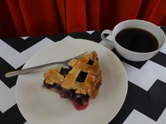 A damn fine cherry pie! Twin Peaks, Waffles, Cherry, Pie, Breakfast, Desserts, Food, Torte, Morning Coffee