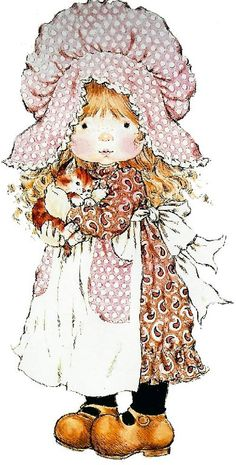 gifs et tubes sarah kay - Page 8 Sarah Key, Holly Hobbie, Mary May, Decoupage, Australian Artists, Illustrations, Cute Illustration, Vintage Pictures, Vintage Cards