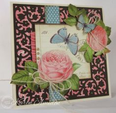 PaperLilies and Ink: Serendipity Stamps Floral Die Set