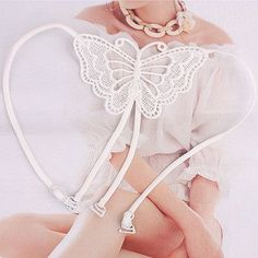 2015 Hot Lace Butterfly Cross Back Bra Straps Lady Girl Colored Shoulder Straps Hot Sexy Lingerie Accessories for Women 70024