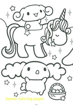 39 Best Kawaii Coloring Pages Images In 2019